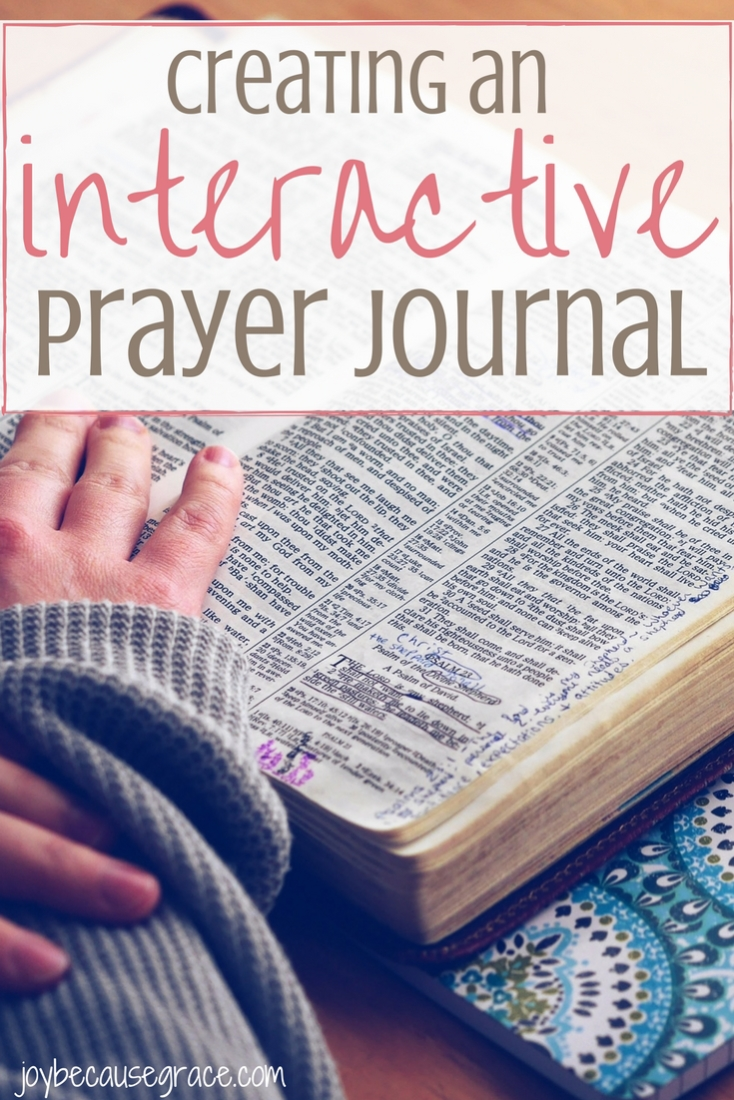Find traditional prayer journaling somewhat dull? Making an interactive prayer journal is a great way to change things up. Here's how!