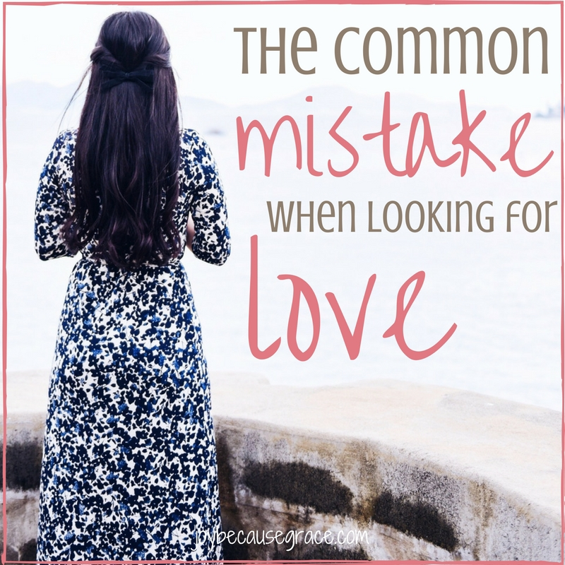 Control: The Common Mistake When Looking for Love