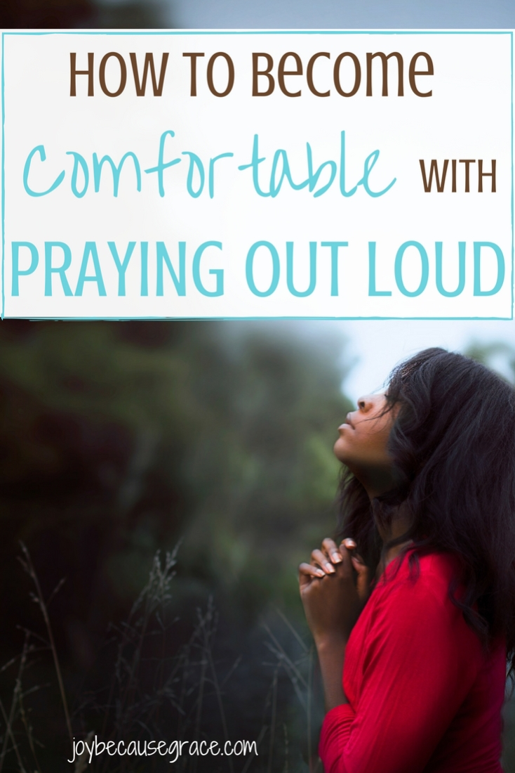I don't know why, but praying out loud can be really intimidating! Here are 3 tips to help you become comfortable with praying out loud.