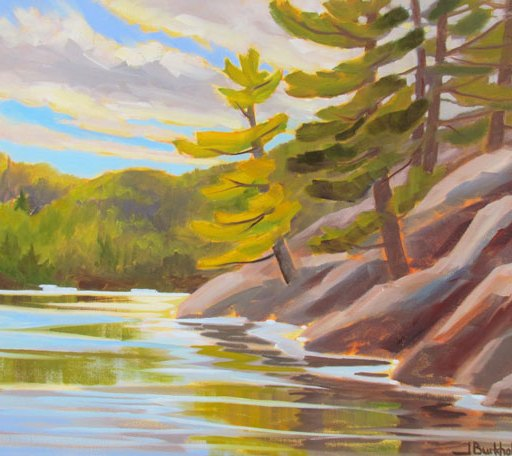 Pines Along the Shore,