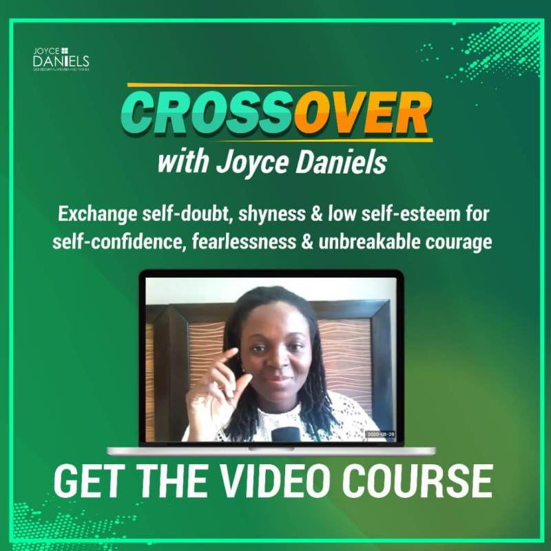 Cross over with Joyce Daniels Video Course