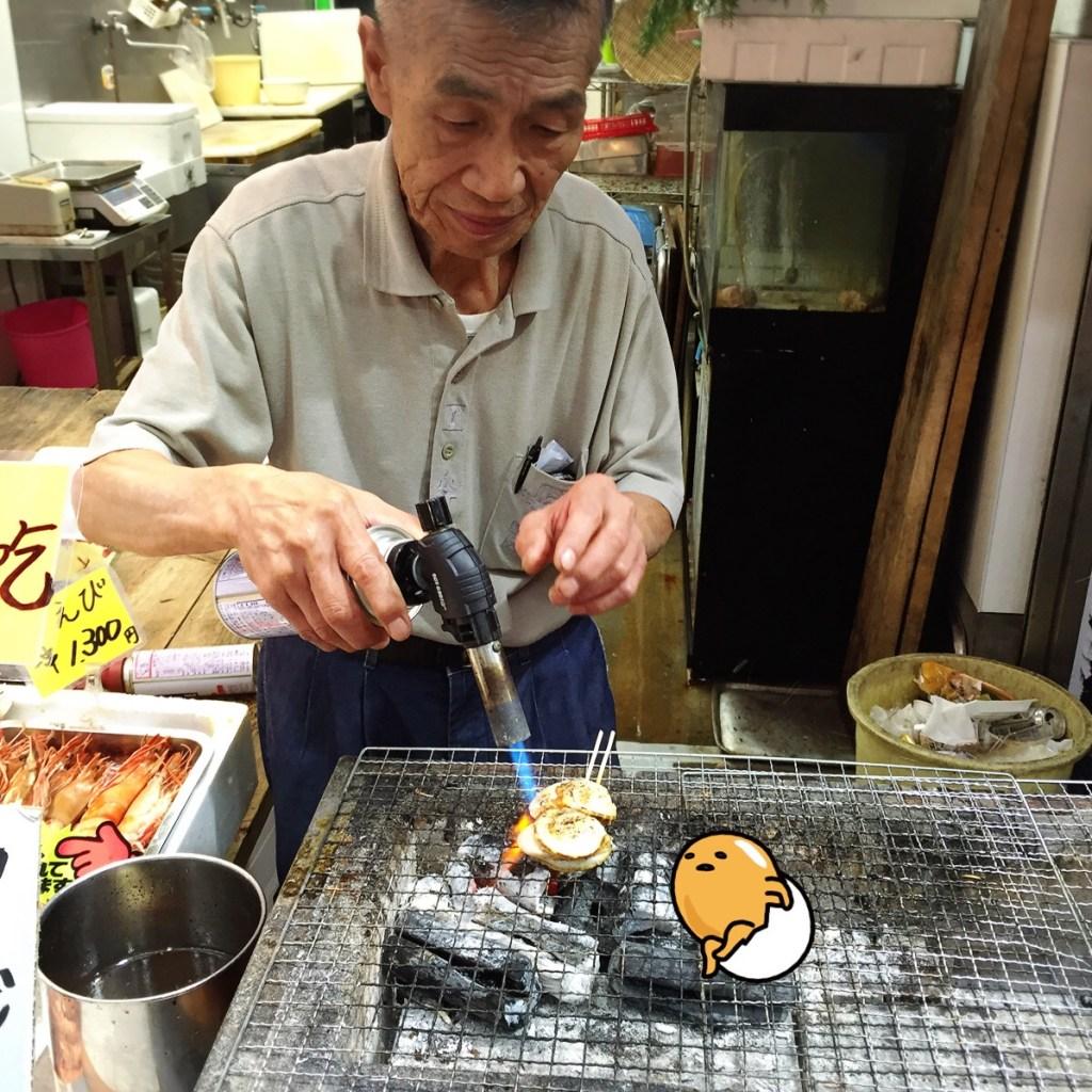 osaka kuromon grill seafood