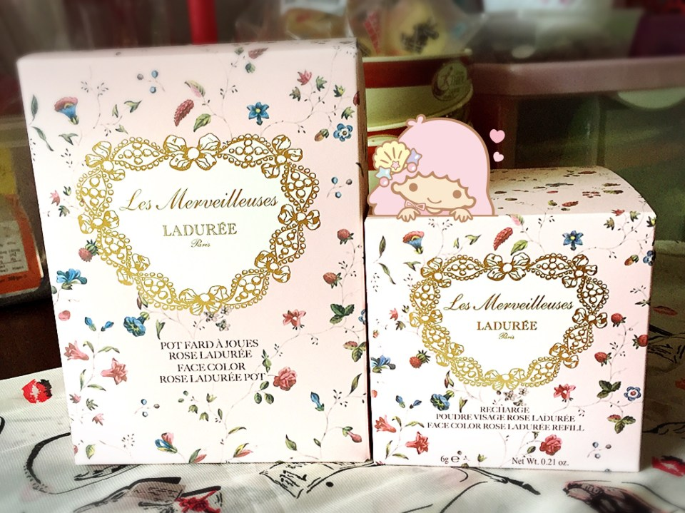 Ladurée Face Color Rose