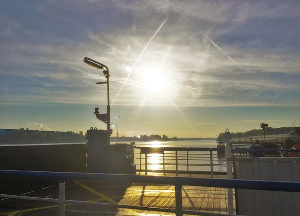 morning ferry