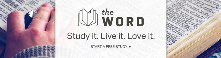 The Word - Start a free study - Joyce Meyer Devotional 18 May 2019