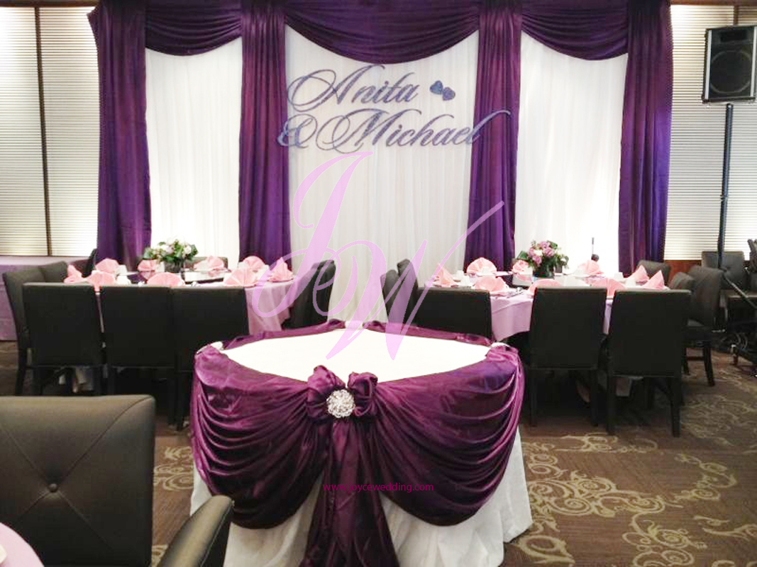 Joyce Wedding Services Purple Decoration For Weddings