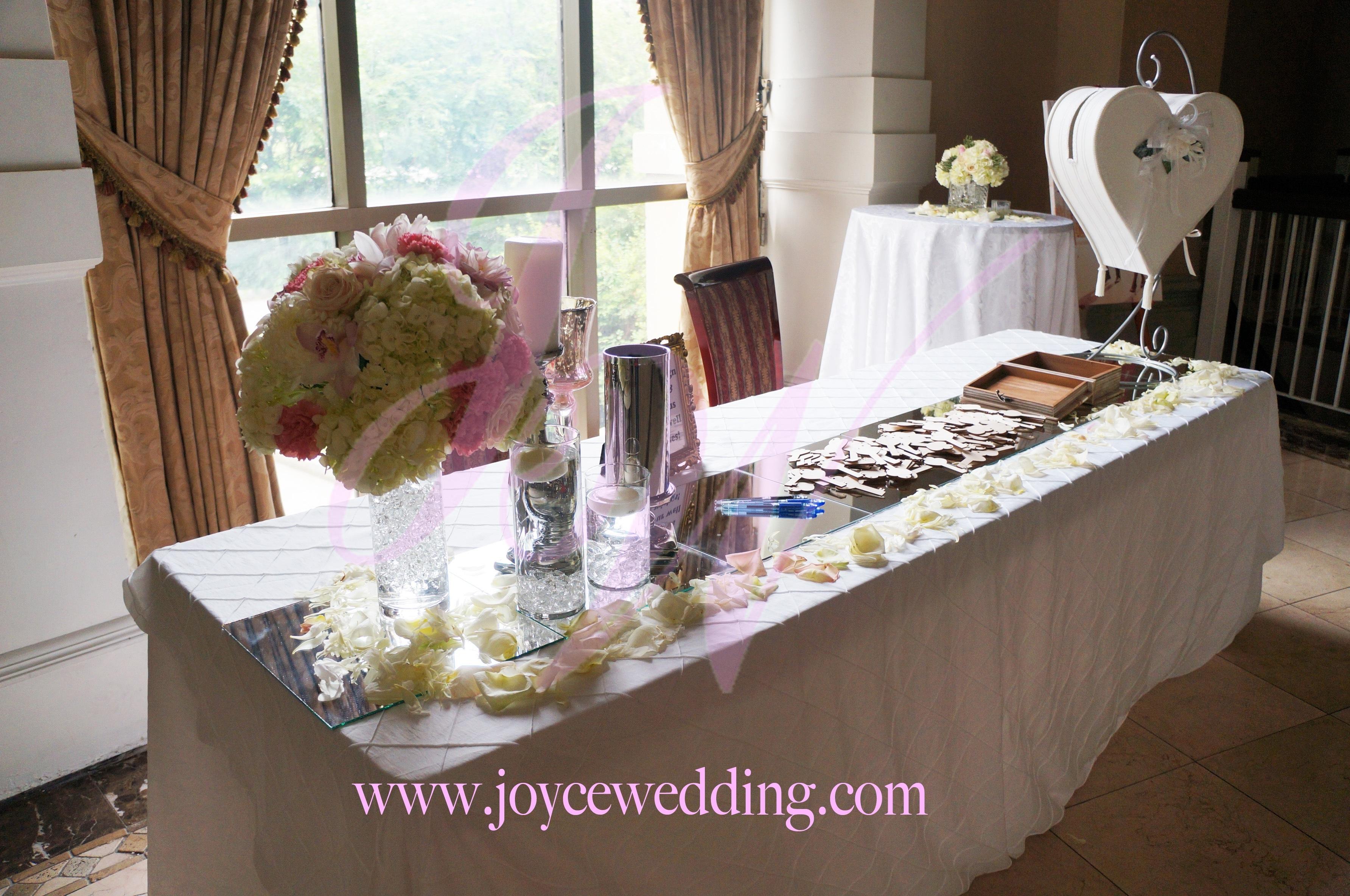 Elegant Trendy Romantic Receiving Line Wedding