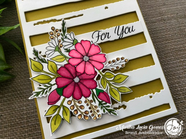 Floral Joy Digital set with Alcohol Markers #coloring #joyclairstamps #joyclairdesigns #alcoholmarkers #triblend #spectrumnoir