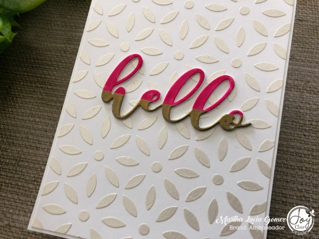 Deco Flower Coverplate Die and Stencil