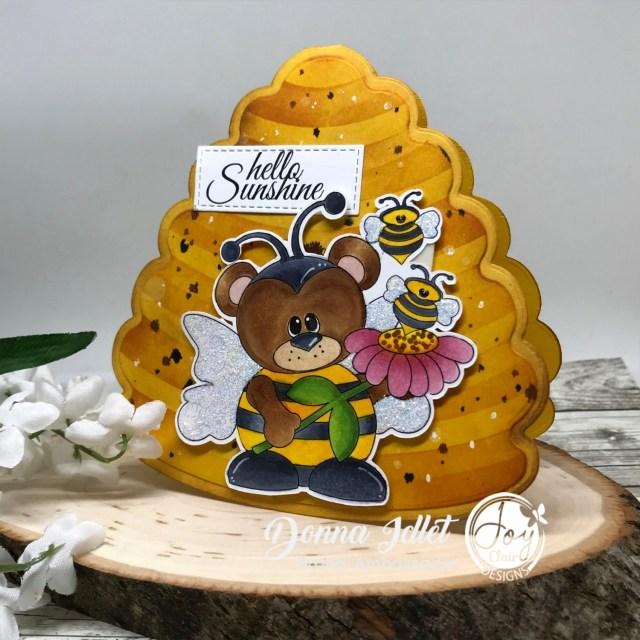 Bumble Bear Digital Stamp
