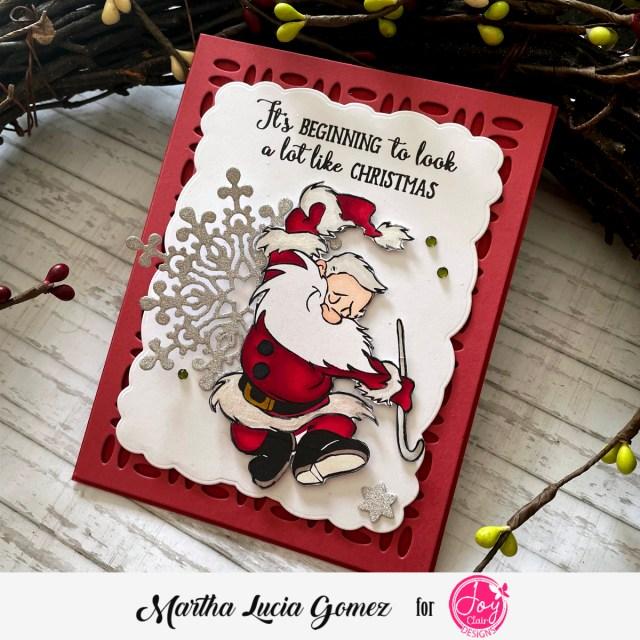Love Santa a Christmas Card