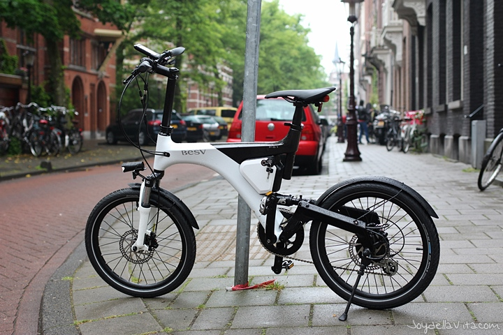 Driving the BESV PS1 e-Bike in Amsterdam