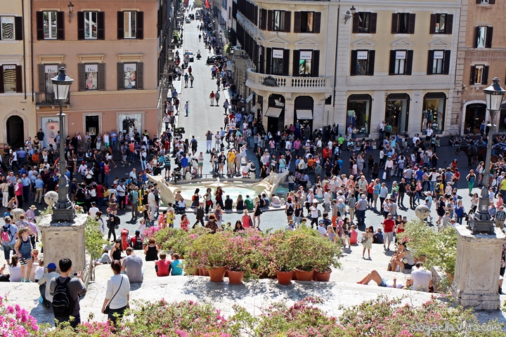 Spanish Steps during the Day - Afternoon
