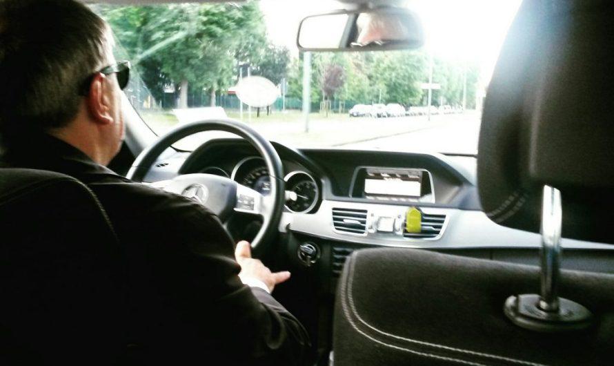 Taking an UBER in Milan