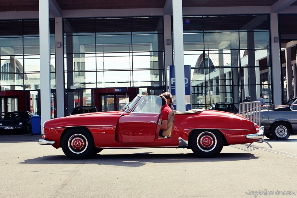 Klassikwelt Bodensee 2015 - Cars in Sideview