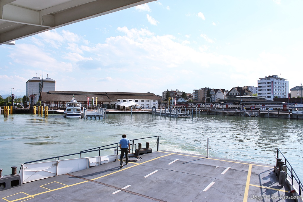 Crossing Lake Constance by Ferry and Katamaran