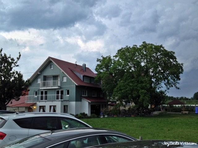 Besenwirtschaft Osswald in Tettnang near Lake Constance