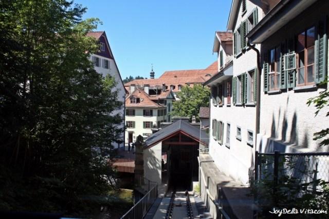 View from Mühleggbahn on St. Gallen