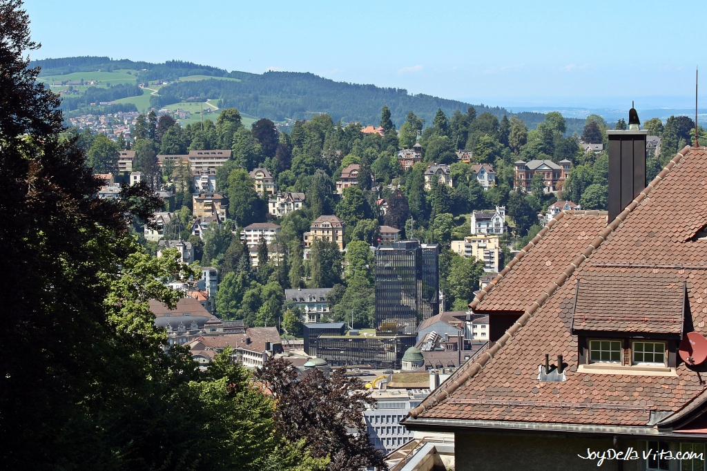 Places with a View in St. Gallen Falkenburgstraße