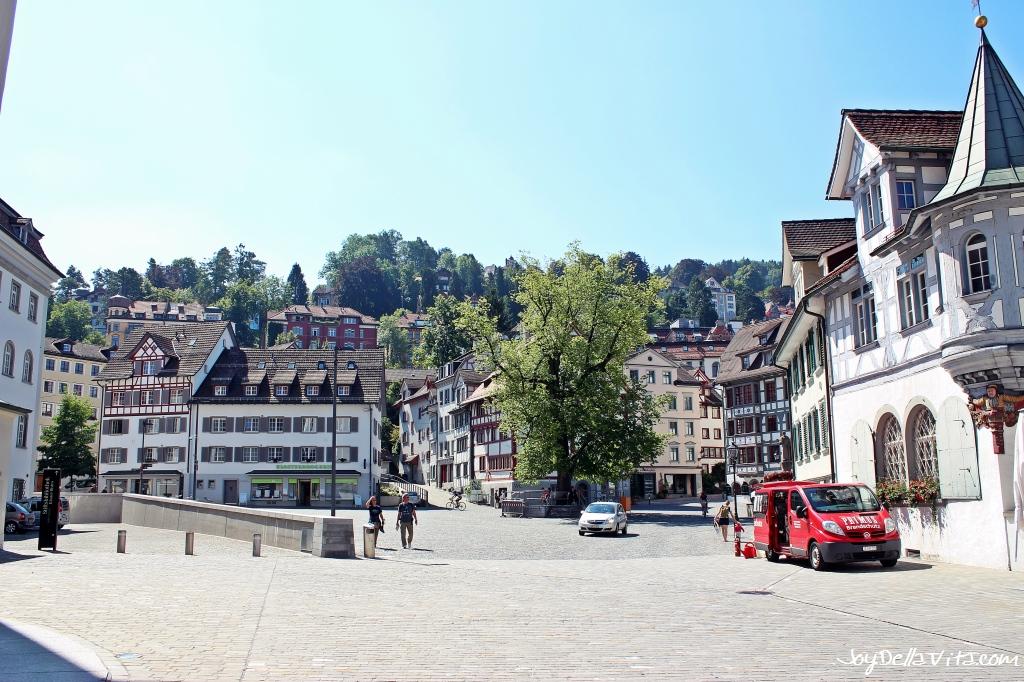 Guided City Tour in St. Gallen Switzerland