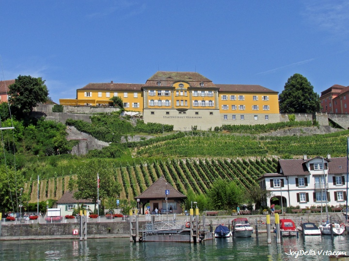 State Winery in Meersburg overlooking Lake Constance