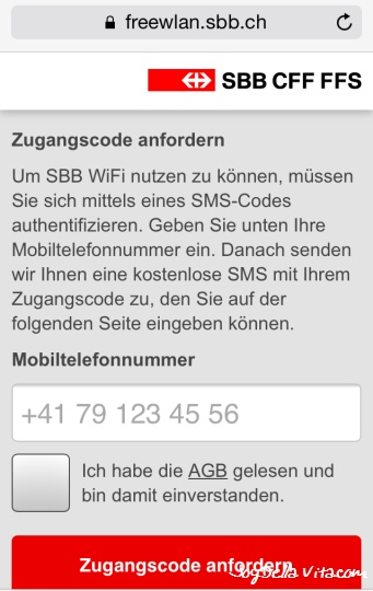 SBB WiFi St. Gallen Railway station