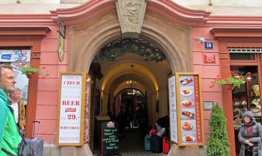 Restaurant U MLYNARE in Prague