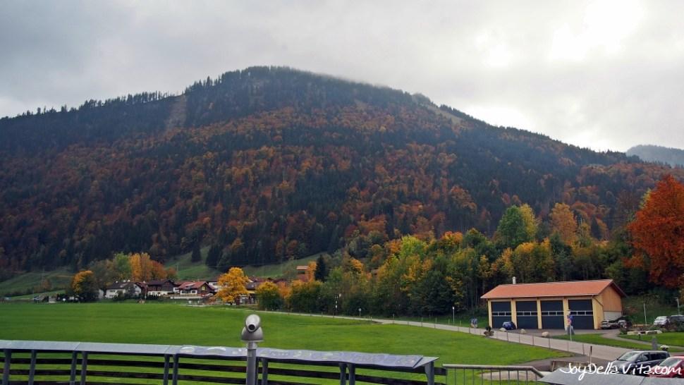 """Mountain """"Immenstädter Horn"""" is 1489 m high"""