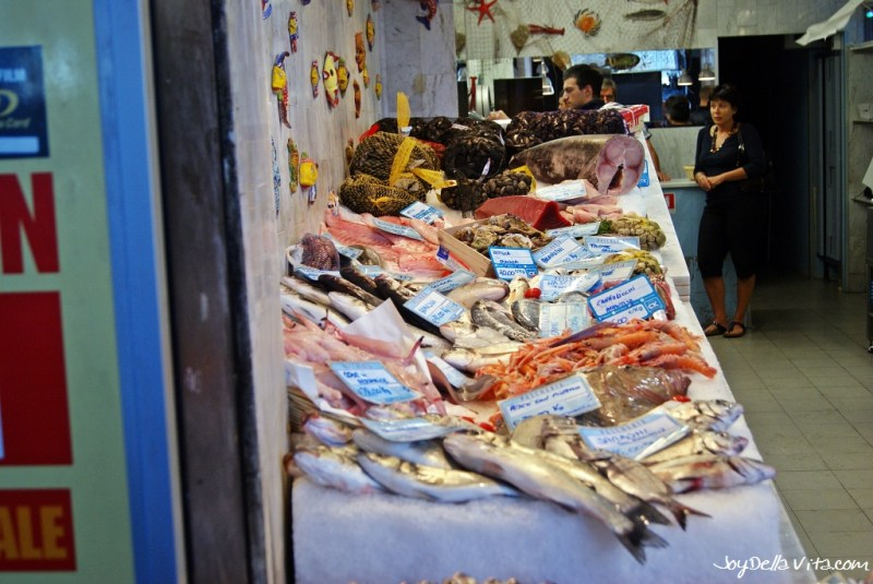 Fresh Fish in Genoa