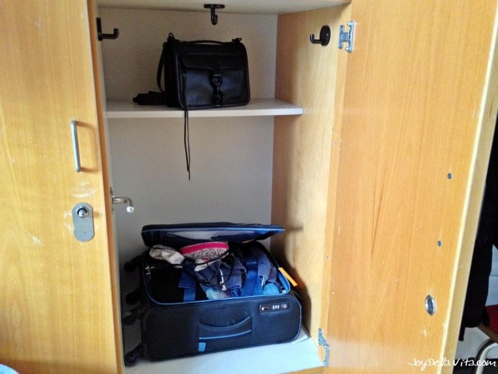 My Locker at Hostel Frankfurt