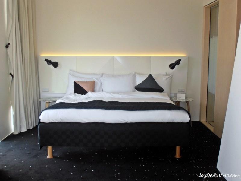 Queen-Bed at Bella Sky Copenhagen