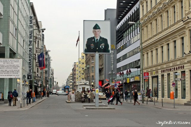 Checkpoint Charlie in Berlin- Replica