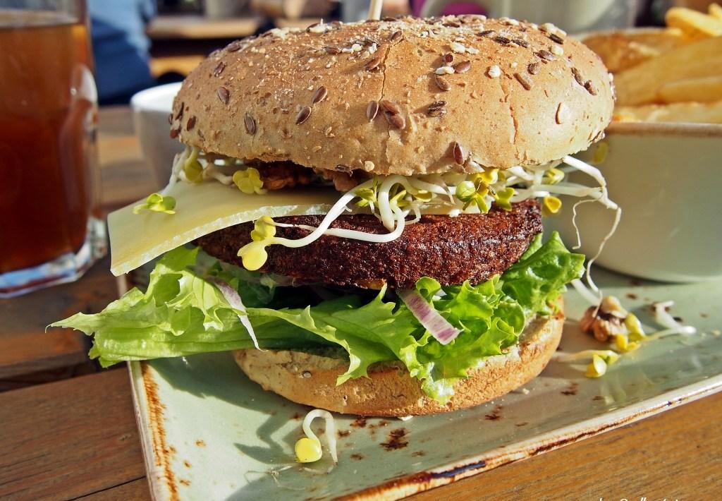 Veggie Burger at Hans im Glück Stuttgart