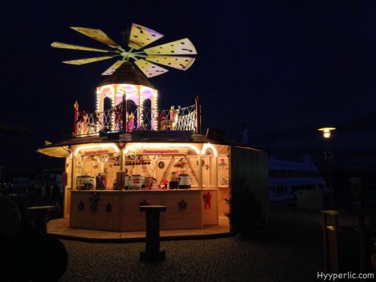Christmas Market in Friedrichshafen at Lake Constance 2015