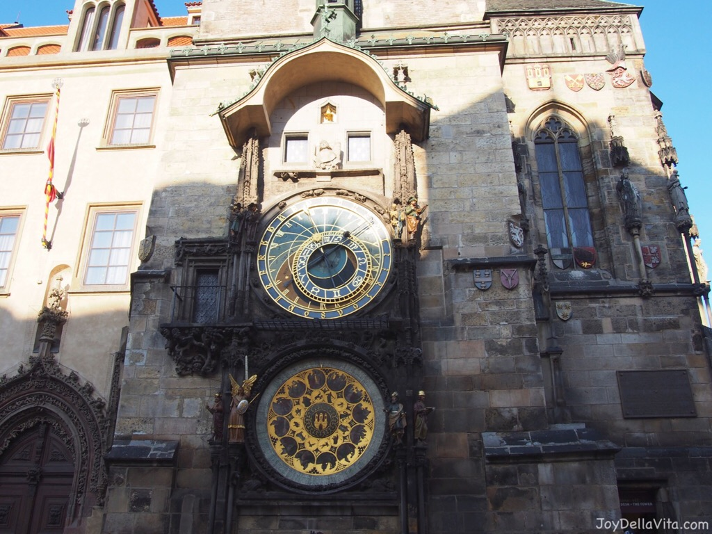Prague Astronomical Clock at the old Town Square