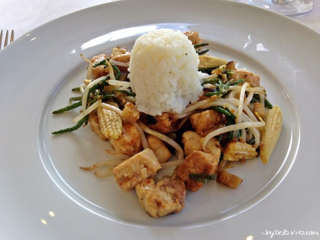 Quorn with Rice and Vegetables
