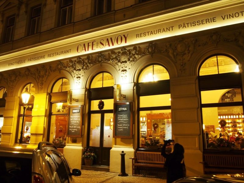 Café Savoy in Prague