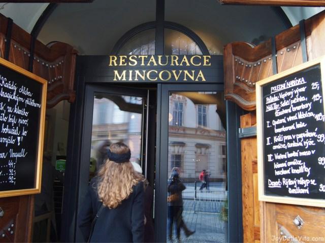 Restaurace Mincovna Prague