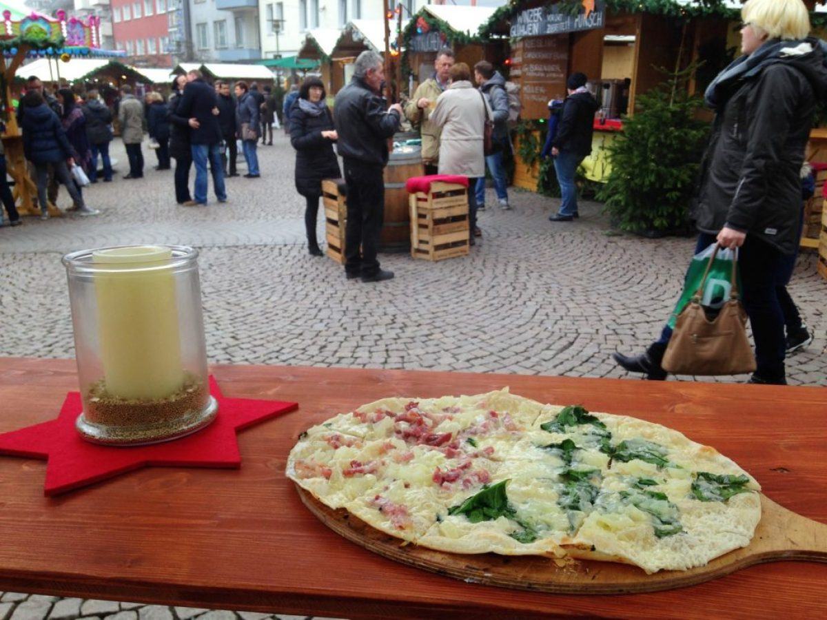 Christmas Market in Friedrichshafen at Lake Constance 2015