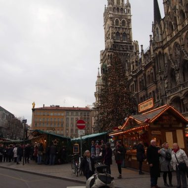 Christmas Market in Munich 2015 at Marienplatz