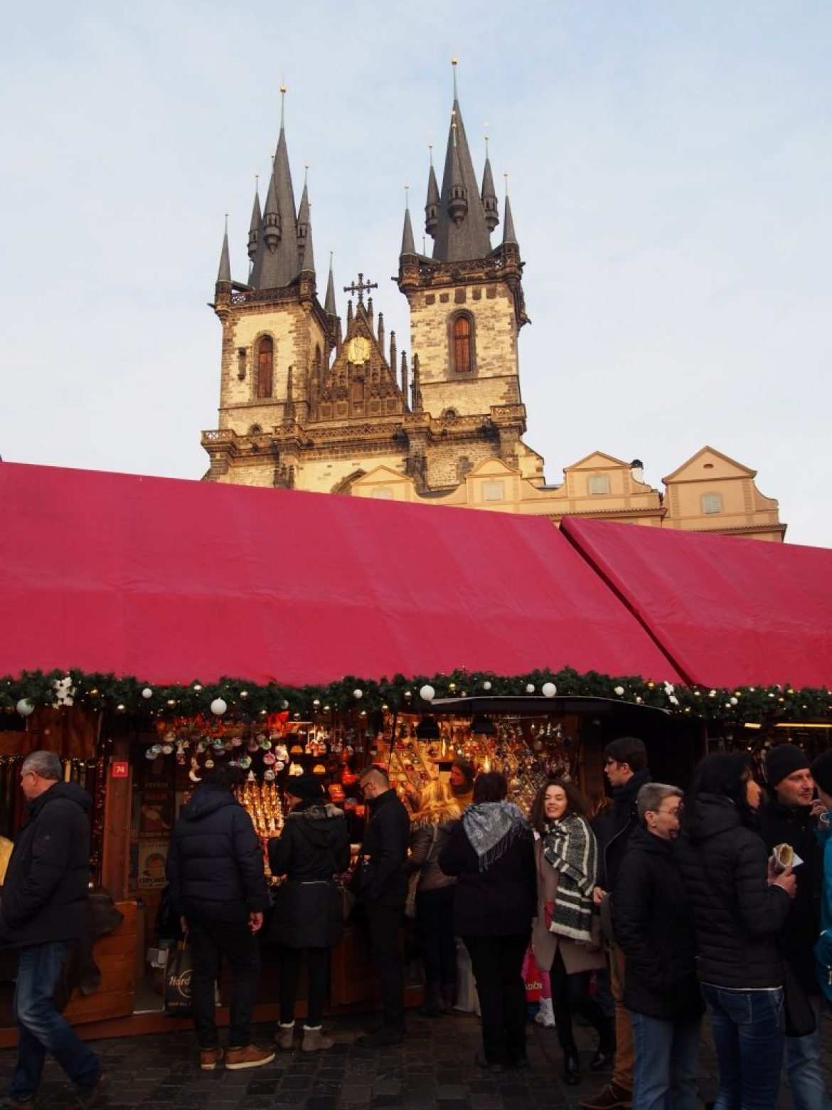 Christmas Market in Prague on the Old Town Square