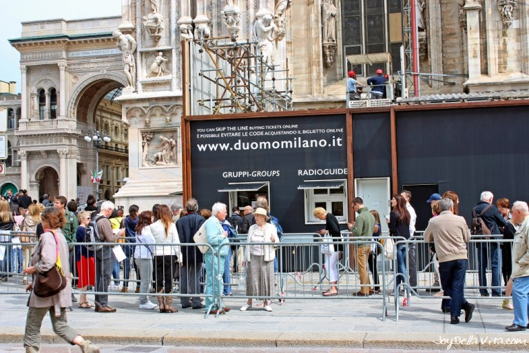 Where to buy your Duomo di Milano Tickets