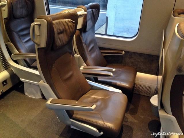 Frecciargento Zurich - Milan FIRST Class