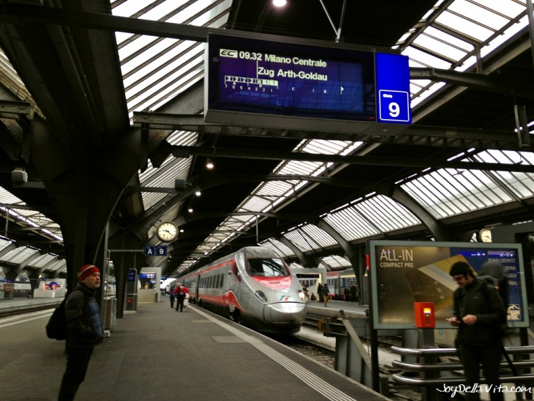 Frecciargento Train to Milan, from Zurich – Trip Report