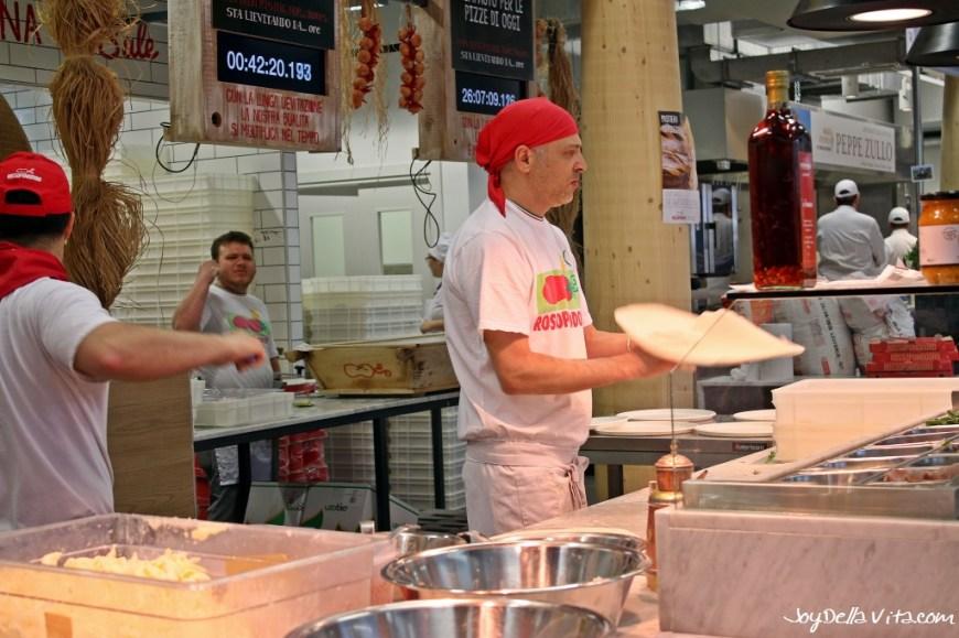 Rossopomodoro Pizza Margherita Milan EXPO 2015 JoyDellaVita