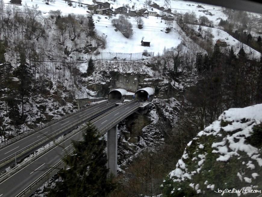 Views from the Train Ride, Switzerland