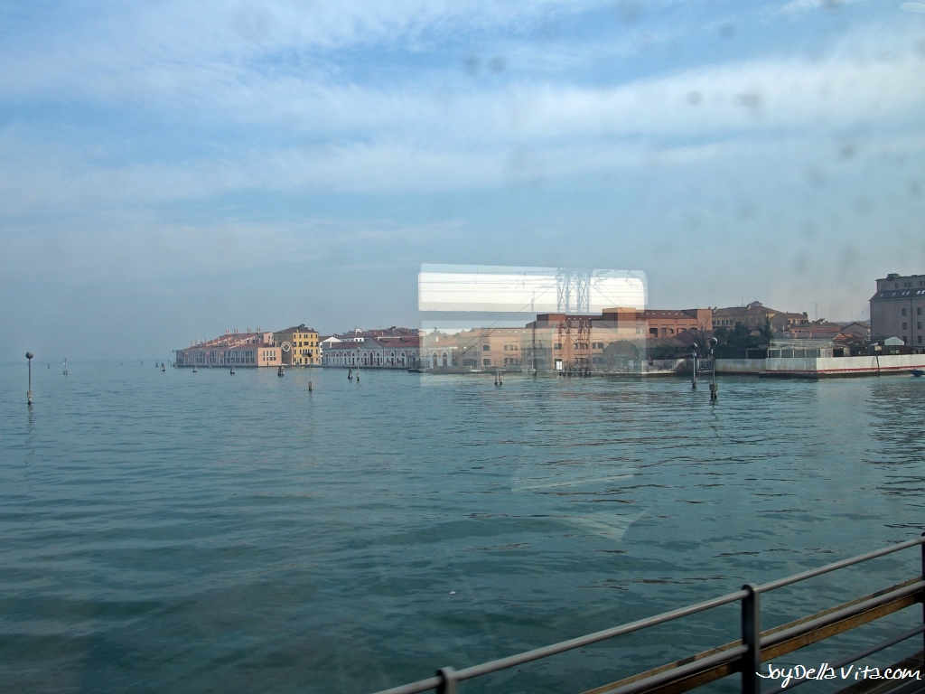 Venice, as seen from the Frecciabianca Train