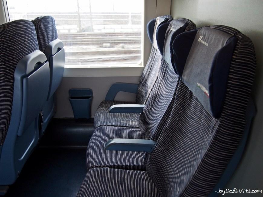 Seats in 2nd Class - Frecciabianca Train to Venice, from Milan