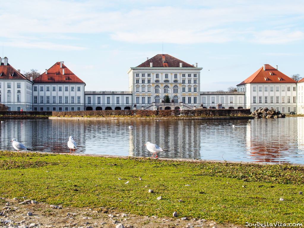 Nymphenburg Castle Garden in Munich