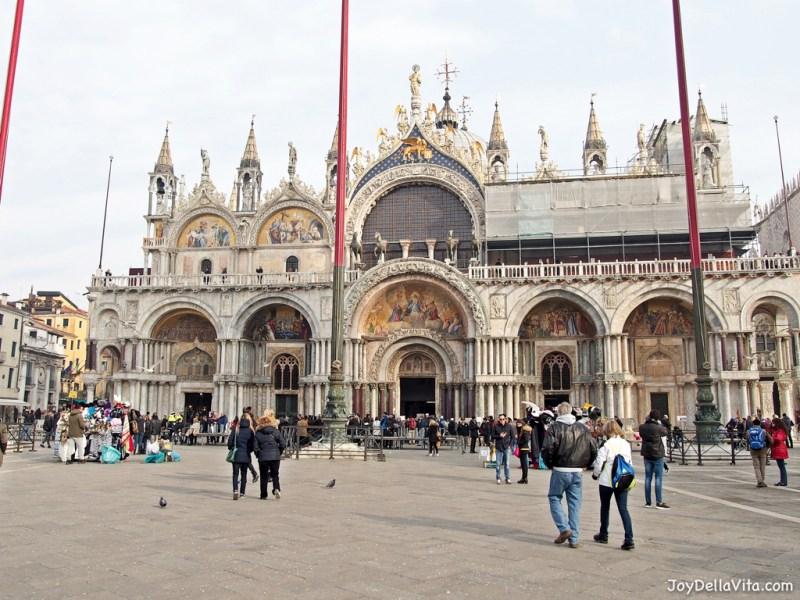 Saint Mark's Square in Venice in January Joy Della Vita Travelblog